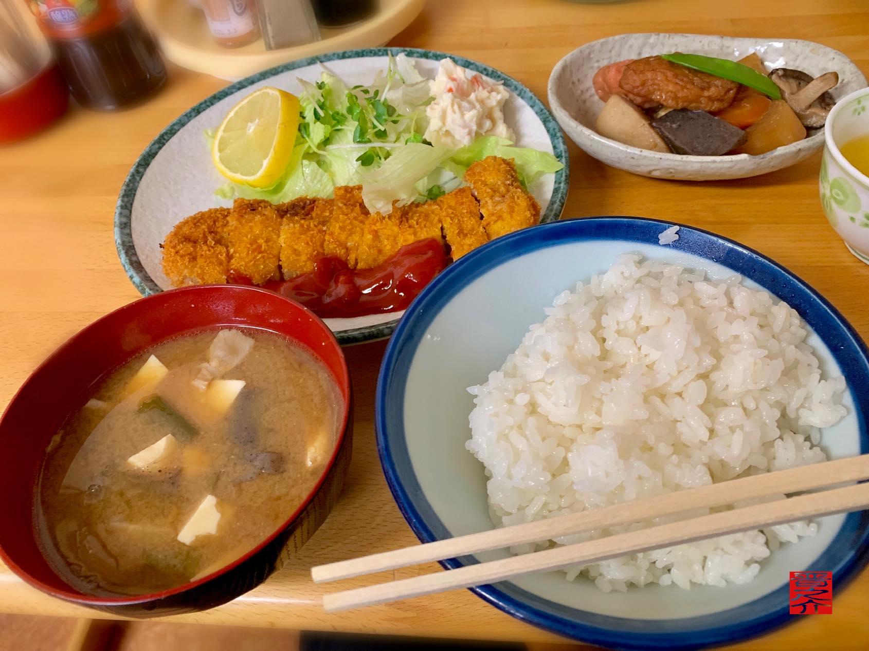 大衆食堂 岡田屋 カツライス