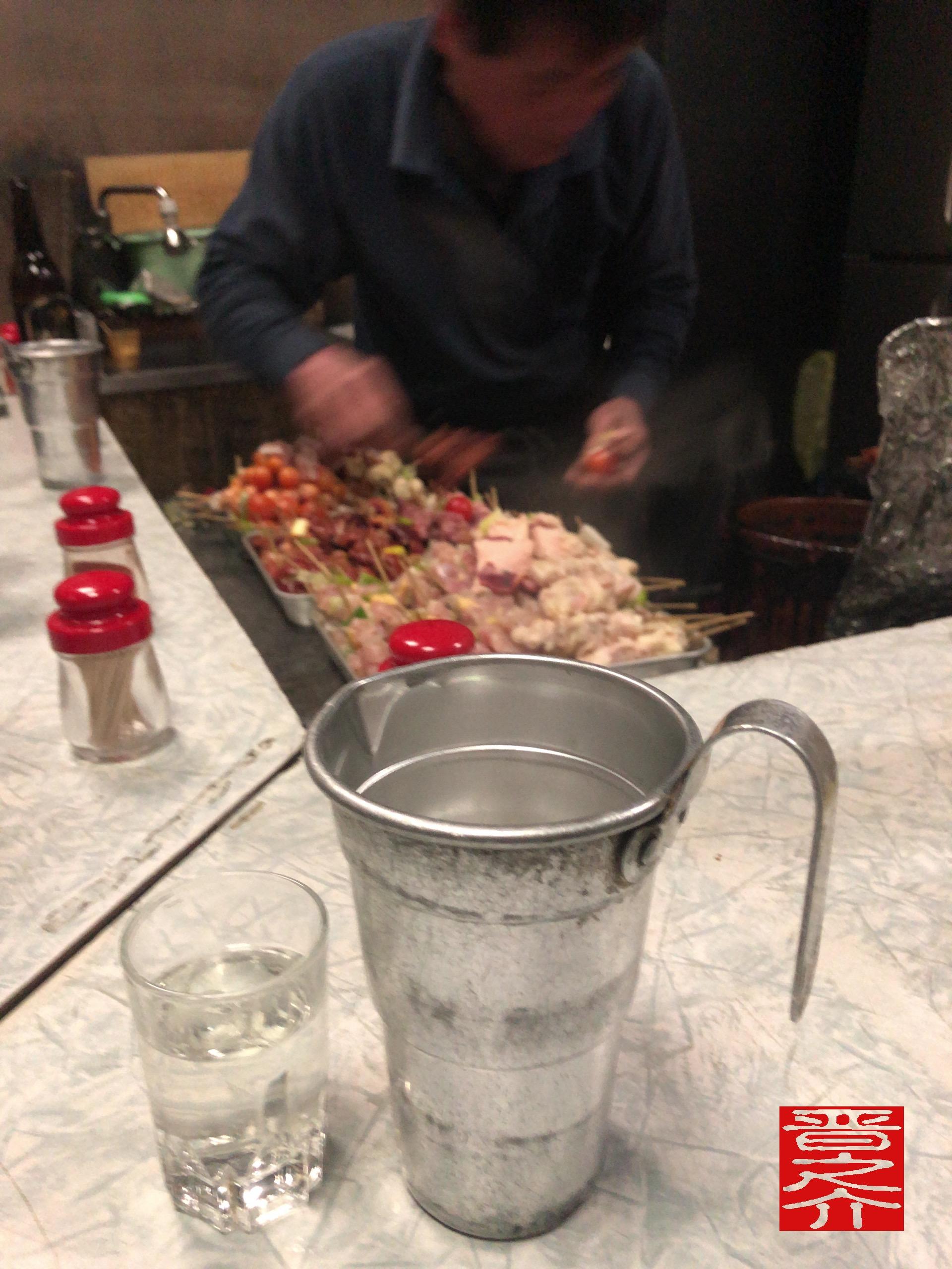 やきとり保志乃 熱燗酒たんぽ
