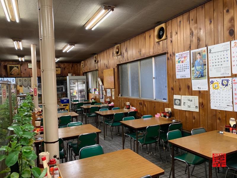 トヨタ屋食堂 店内