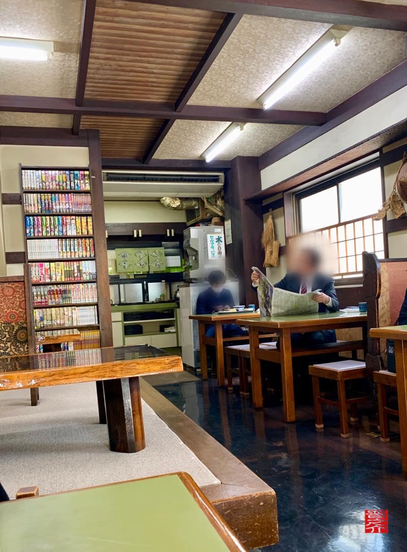山田かん食堂店内
