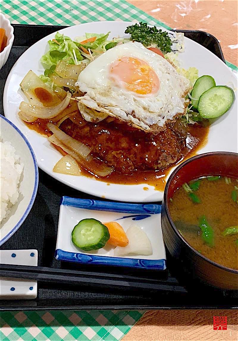 キッチン米常 ハンバーグ定食