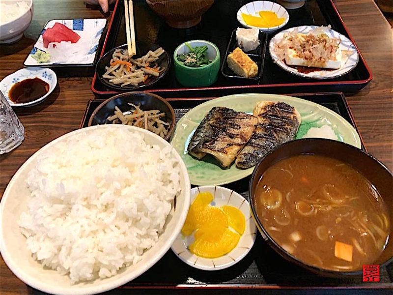 鯖塩焼き定食