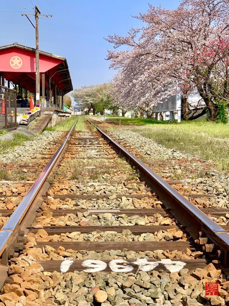 気賀駅線路