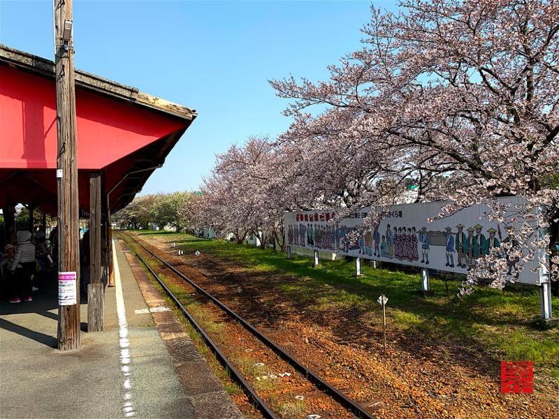 気賀駅ホーム