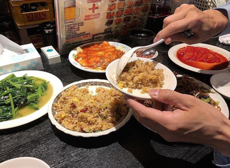 台湾料理専門店「百味軒」炒飯等