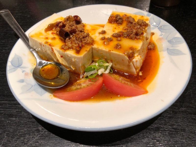 台湾料理専門店「百味軒」冷奴