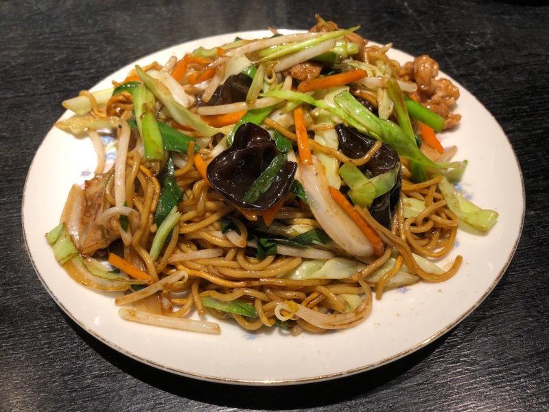 台湾料理専門店「百味軒」ソース焼きそば