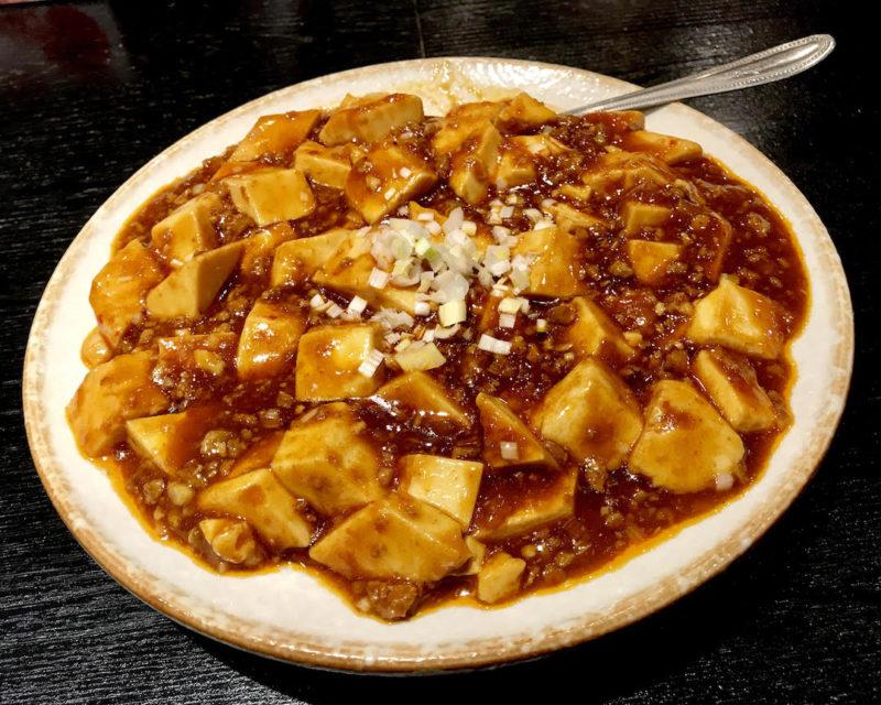 台湾料理専門店「百味軒」麻婆豆腐