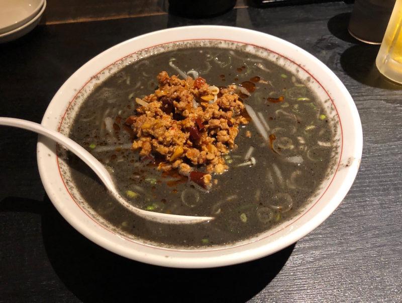 台湾料理専門店「百味軒」黒担々麺