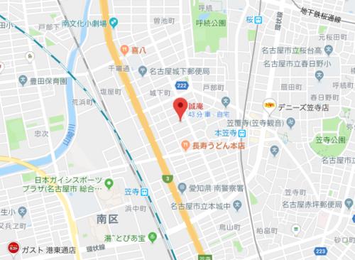 誠庵マップ