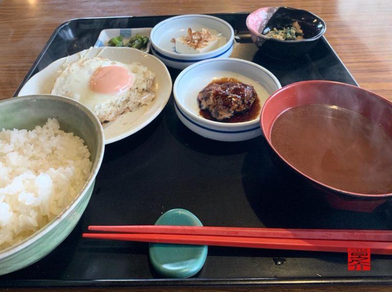 コーヒー松阪朝定食2