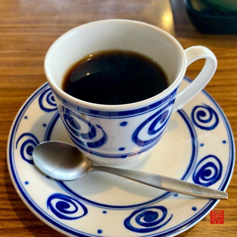コーヒー松阪朝定食