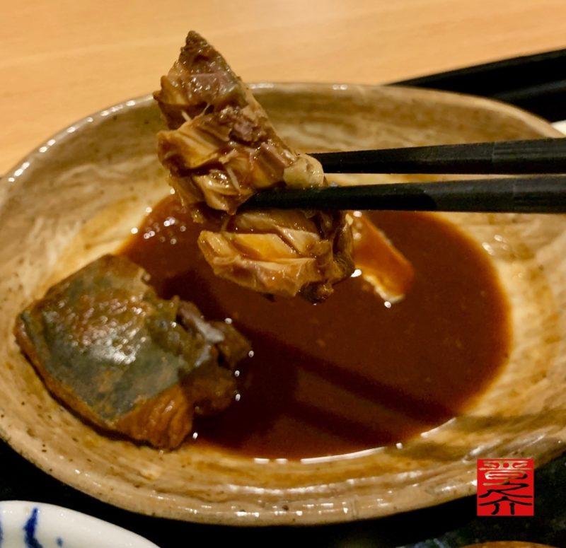 定食カフェ一輪の花 鯖の味噌煮