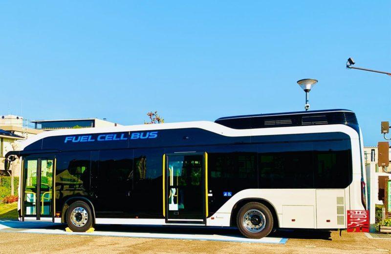 トヨタ水素バス