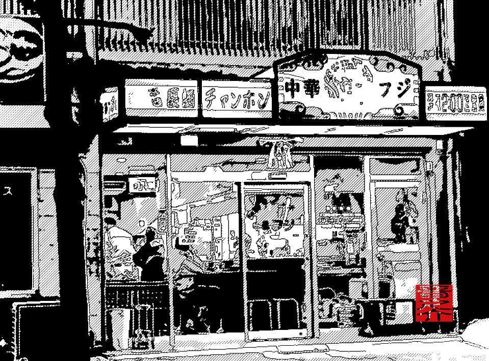 具沢山・モチモチ麺の長崎チャンポンを食べに遠方から通う人、永年の常連さん、夜中に続々と男女が集う「町中華」