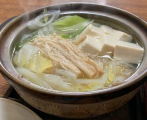 湯豆腐定食(もりた屋)
