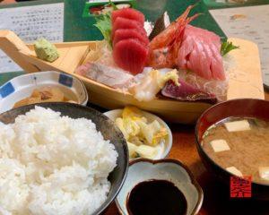 刺身定食(大ちゃん)