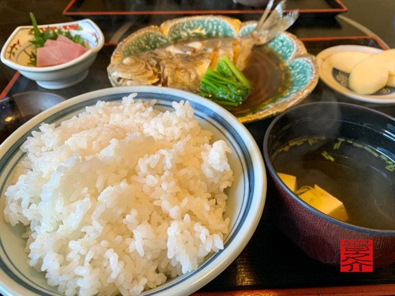 煮魚定食1