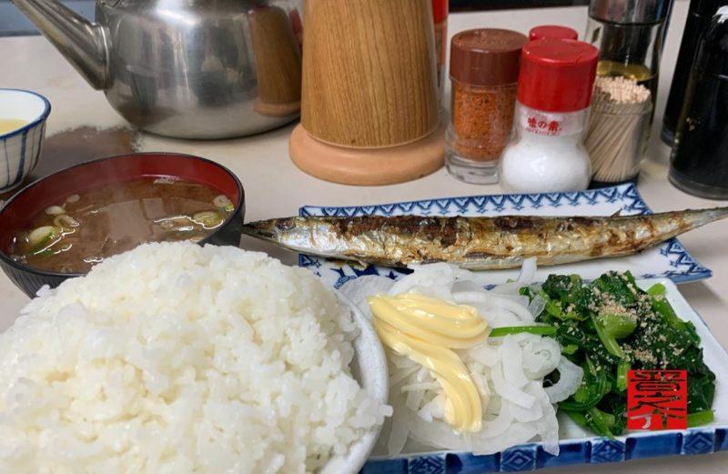 てんぷら屋秋刀魚