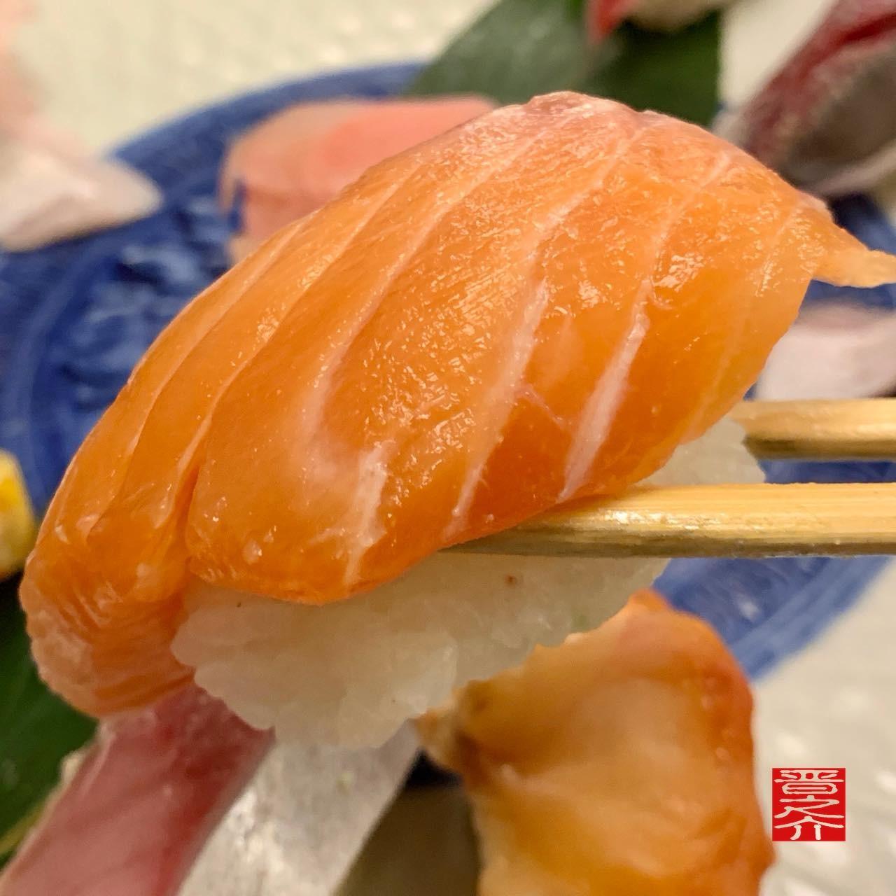 寿司むさし鮭