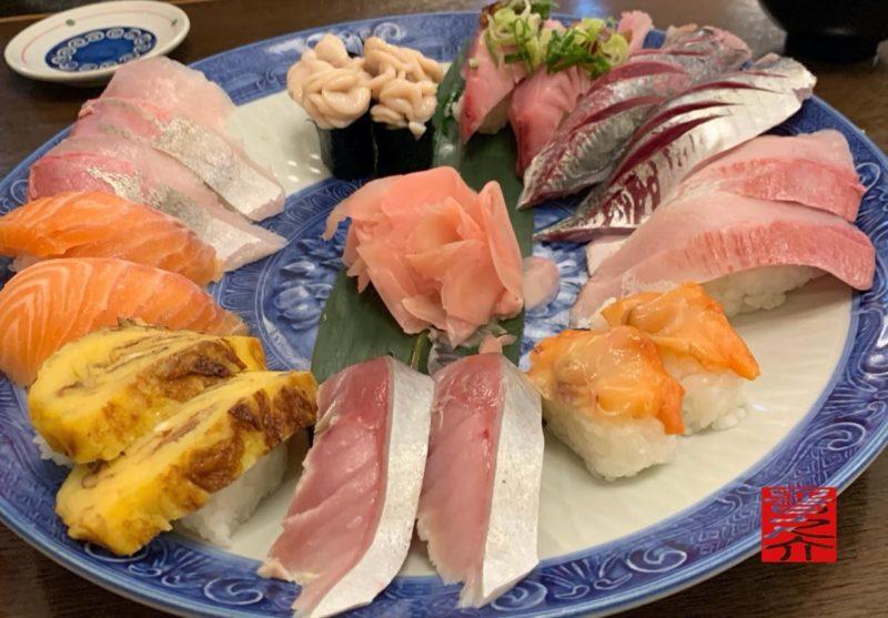 寿司むさし店長お任せ