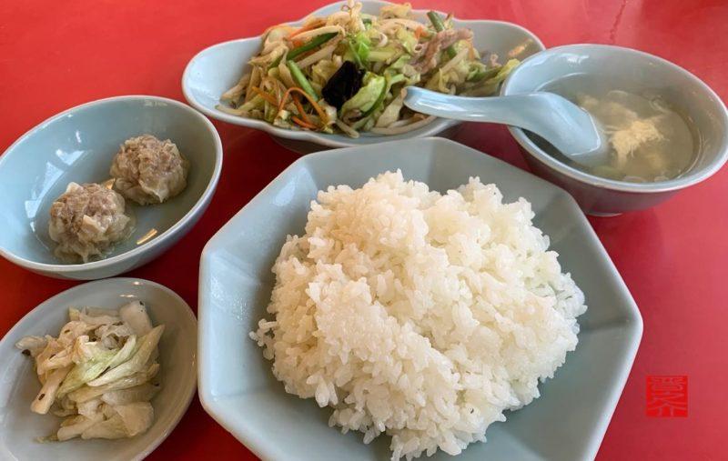 中華料理テンハオDランチ