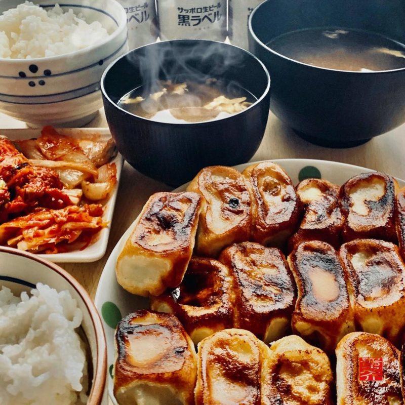 お家トウゲ餃子定食