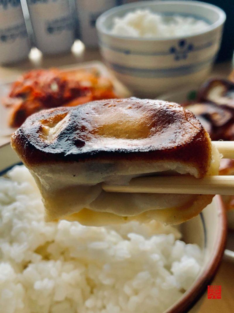 ホワイト餃子