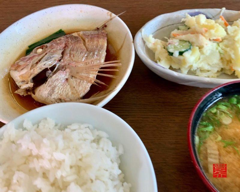 鯛の煮付け定食