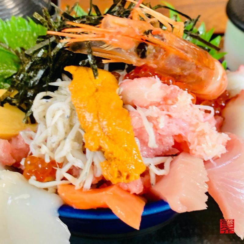 活魚料理つれづれ北海道丼2