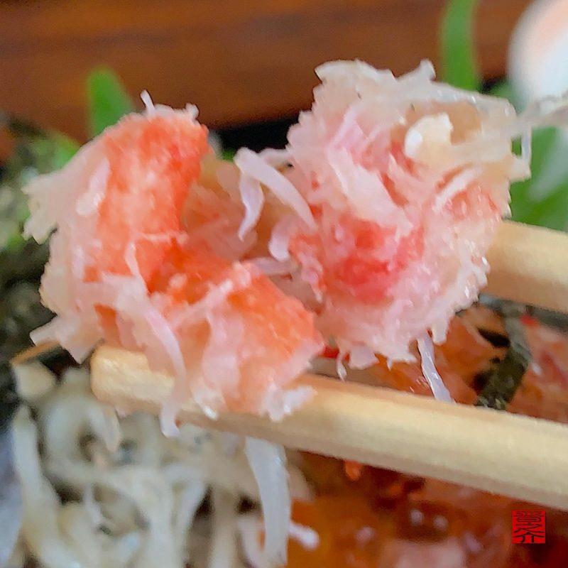 活魚料理つれづれ北海道丼3