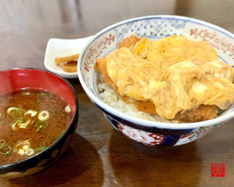 秀乃屋カツ丼1