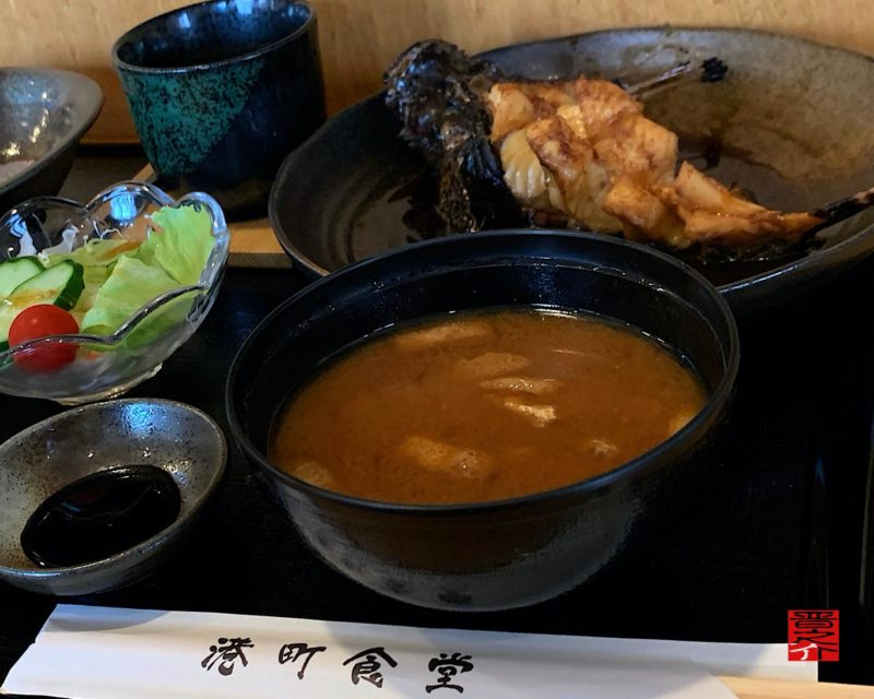 港町食堂煮魚ランチ3