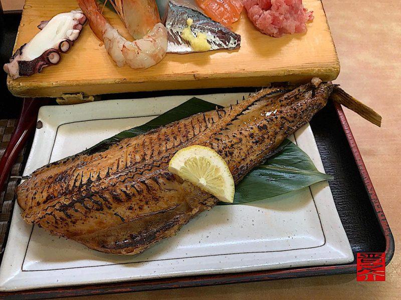 海鮮・焼魚ランチほっけ