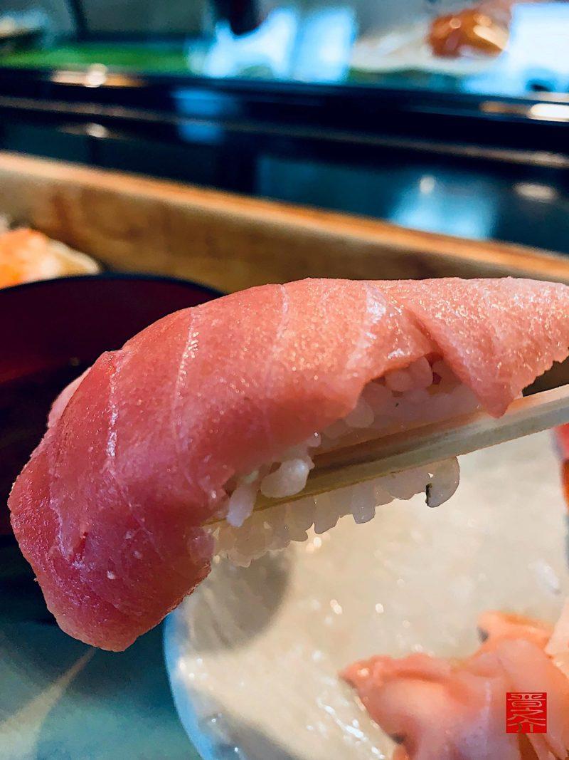丸八寿司中とろ