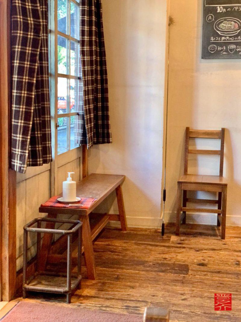 食堂Pecori(ペコリ)入口