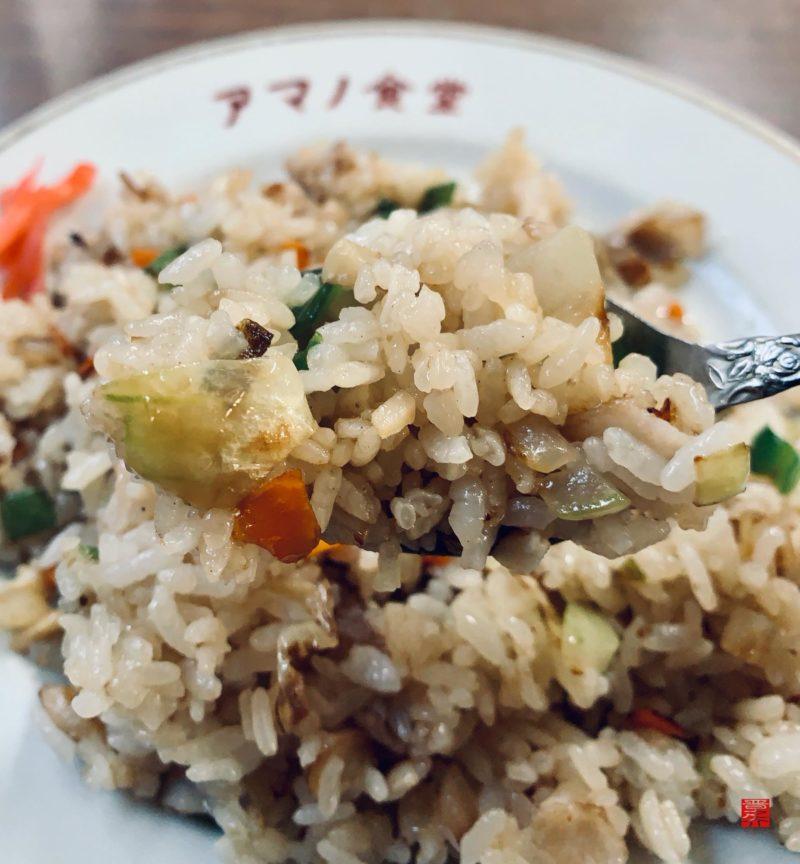 アマノ食堂チャーハンアップ