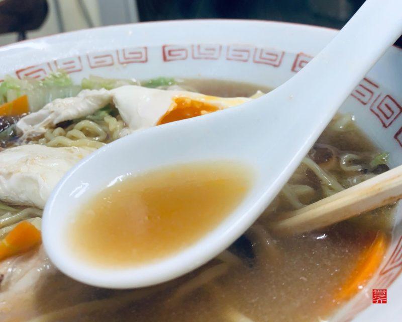 アマノ食堂五目ラーメンスープ