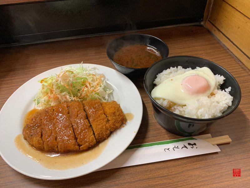 キッチンつぼ ミンチカツ定食