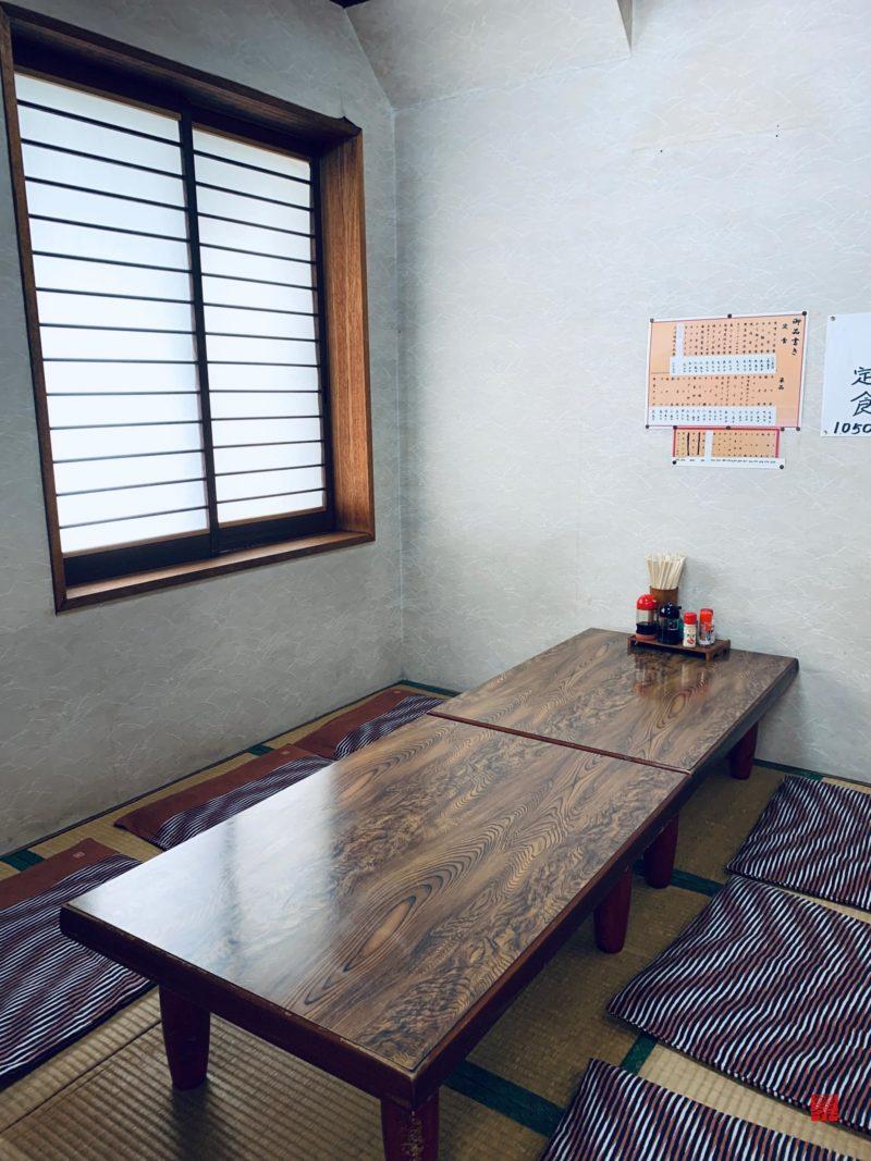 青山食堂個室