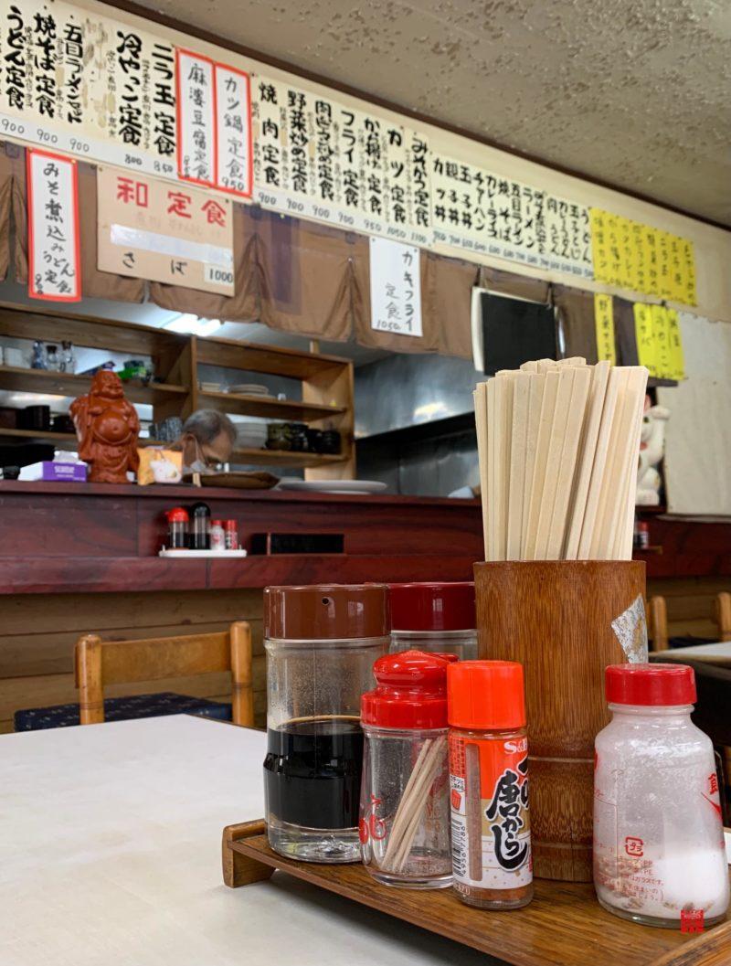 青山食堂内観3
