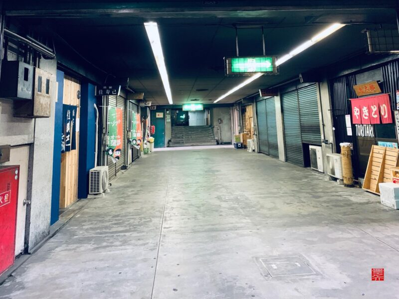 蒲郡北駅前地下街2