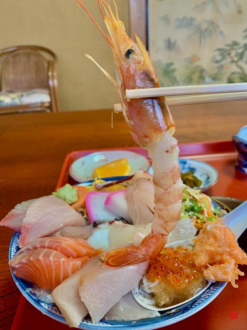 魚春海鮮丼甘海老