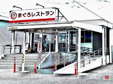 国道23号沿「まぐろレストラン」にて豪快まぐろで腹パン!